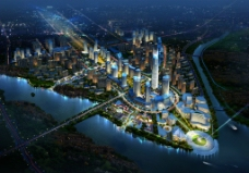 城市鳥瞰圖圖片