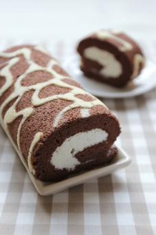 蛋糕卷图片
