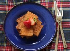 巧克力面包干图片
