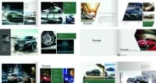 汽车广告宣传册图片
