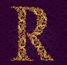 花紋字母圖片