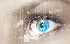 瞳孔扫描图片