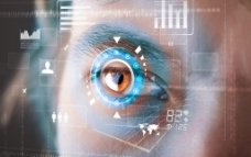 瞳孔掃描圖片