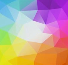 抽象3D立体几何图形矢量图图片