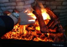 美丽的伏羲电壁炉图片