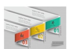 立体分类分析信息图表设计图片
