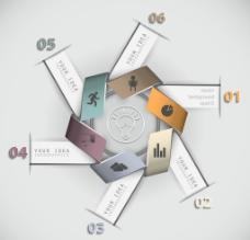 业务分类分析信息图表设计图片