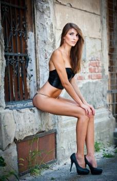 美女模特图片