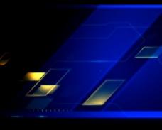 蓝色光效背景素材