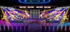 心花路放上海发布会舞台图片