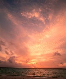 大海云彩图片