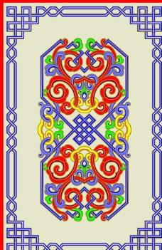 蒙古族纹样图片免费下载,蒙古族纹样设计素材大全,族