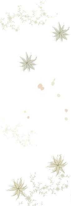 小花白底印花布图片_花边花纹