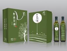 野山茶油包装盒
