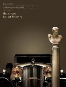 豪华汽车海报图片
