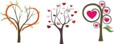 心形树木素材图片