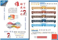培训学校技能+学历宣传单页