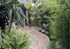 别墅庭院图片