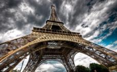 巴黎铁塔的高度素材