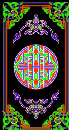蒙古族图案图片