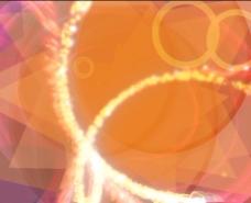 紫光光效视频素材