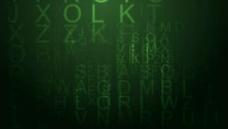 绿色光效背景视频素材