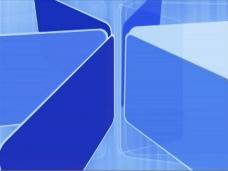 蓝色动画视频素材