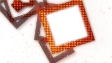 橙色相框视频素材
