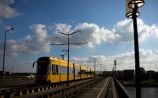 火车旅游背景