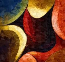 抽象装饰画图片