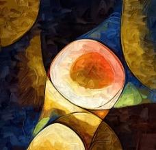 抽象画图片
