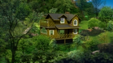林中小木屋
