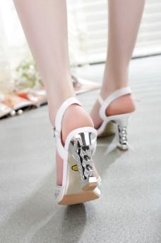 腿模 鞋子摄影图片