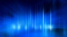 蓝色光效背景视频素材