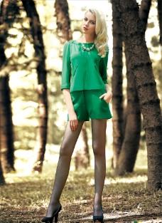 欧美女模特女装图片