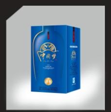 白酒 酒盒 包装 设计 展开图图片