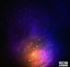 绚丽宇宙背景图片