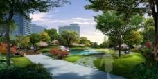 住宅区绿化图