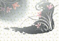 中国风墙纸图案