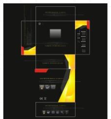 安防产品包装彩盒图片