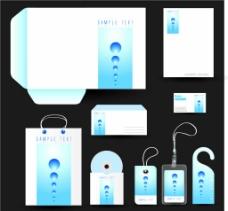 蓝色色调大气VIS模板图片