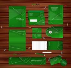 绿色色调VI设计图片