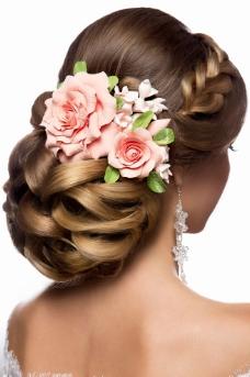 新娘发型图片