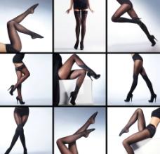 黑丝美腿套图图片