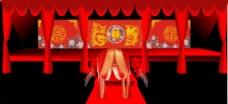 中式婚礼舞台设计