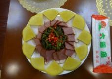 金饼腊肉图片