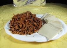京酱肉丝图片