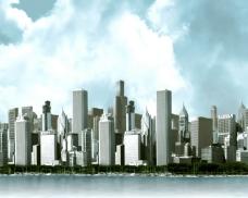 城市高楼视频素材