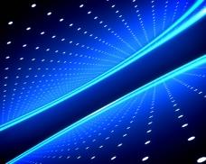 绚丽蓝光视频素材