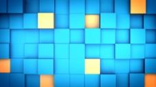 方块动画特效视频素材